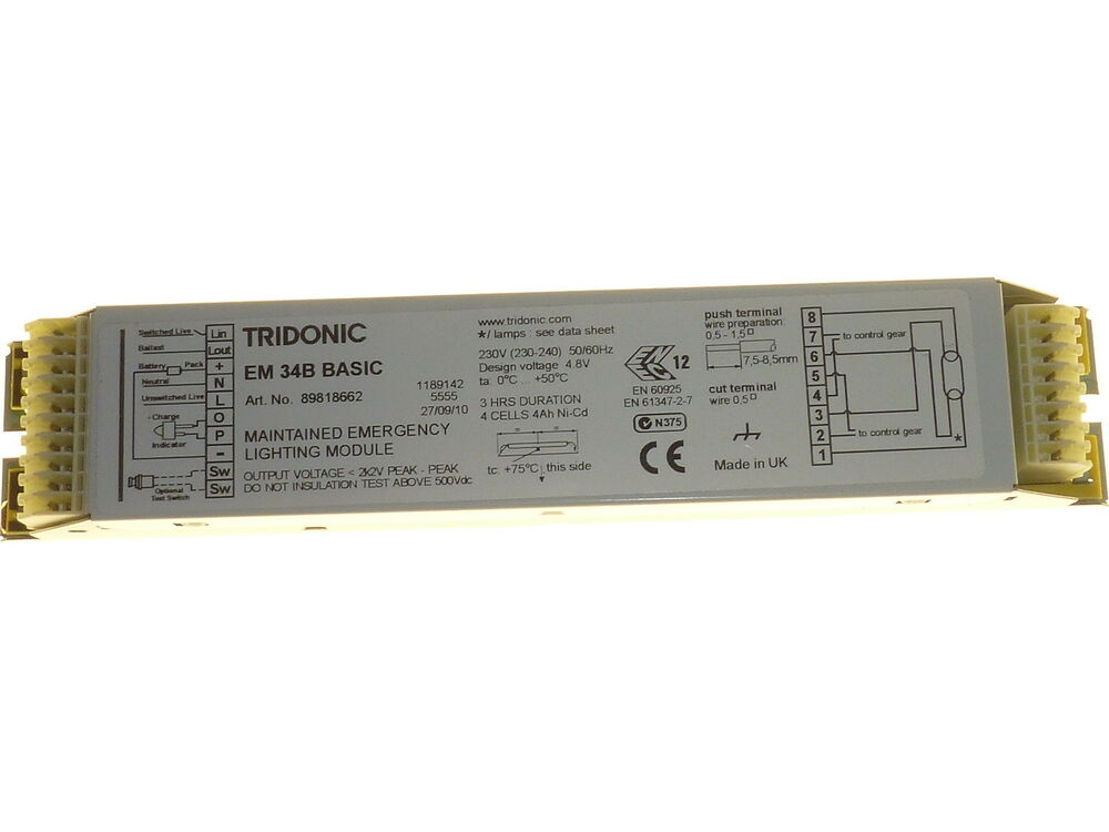 s l1000 emergency lighting module 3hr maintained fluorescent light tridonic em34b basic wiring diagram at cos-gaming.co