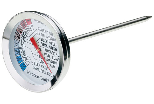 how to use good cook meat thermometer