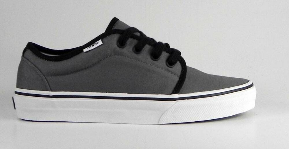 0bcc44ce4b VANS Women s Shoes 106 Vulcanized Gray Pewter Canvas Fashion Skate Sneakers