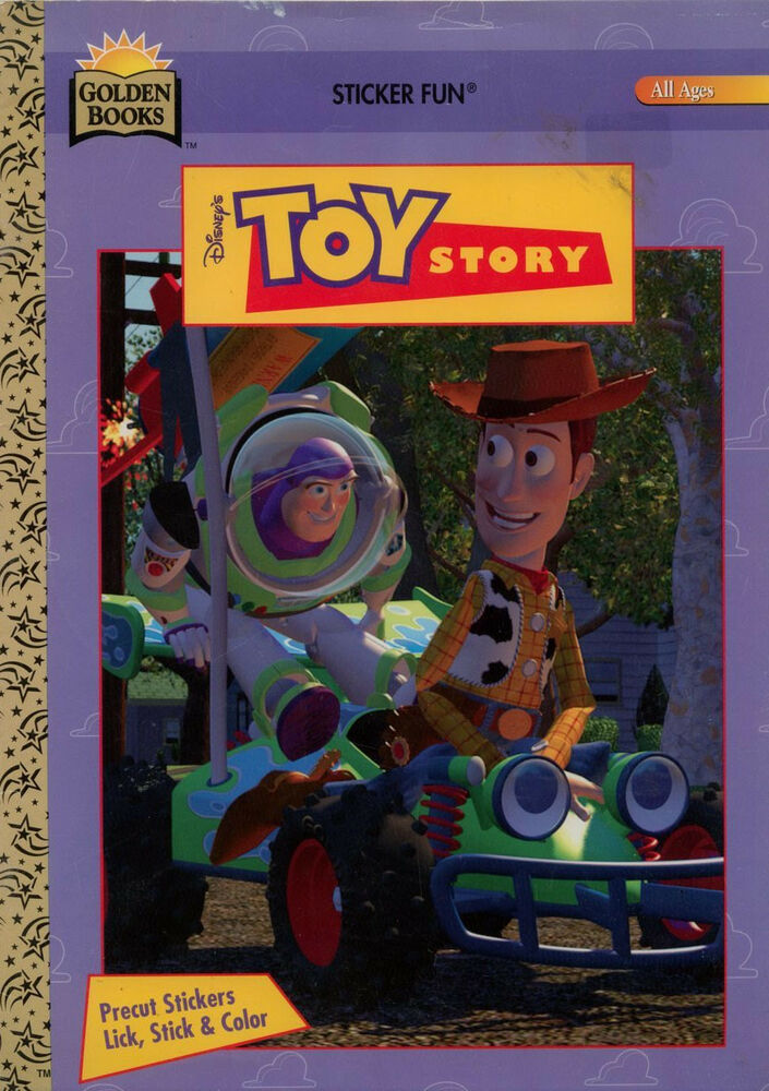 Toy Story Coloring Book Rare Ebay