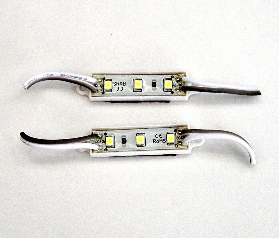 12 Volt Marine Lights: 2 BBT Marine Grade 12 Volt Waterproof Cool White LED
