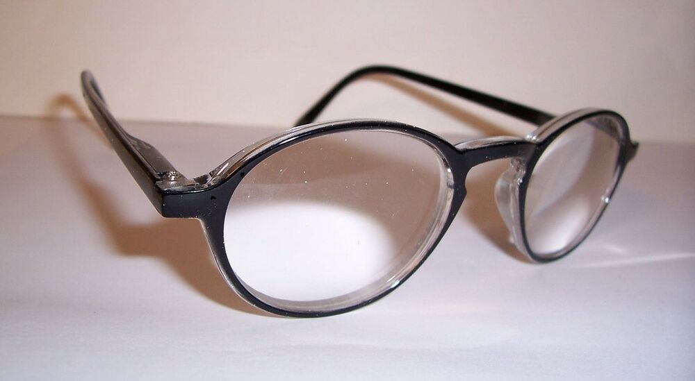 6 00 reading glasses lens magnified 600 high power w