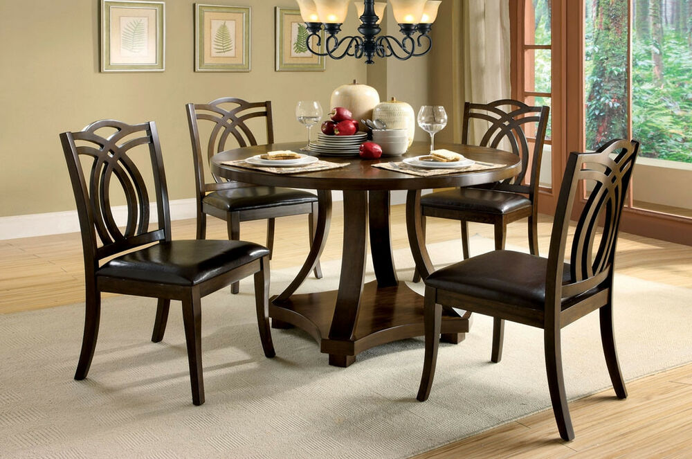New Dining Room Furniture Set Dining Table W 4 Side