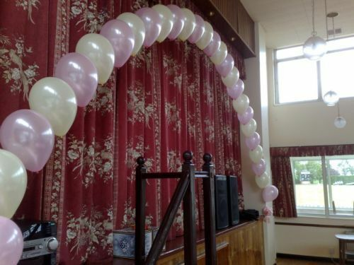 Small cake table balloon arch diy kit ebay for Balloon arch decoration kit