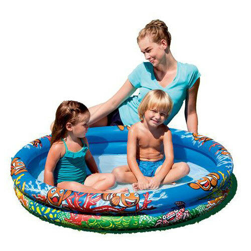 Great fun children 39 s small paddling pool summer garden for Small paddling pool