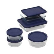 $10.08 PYREX 10-pc Storage Set w/ Plastic Covers