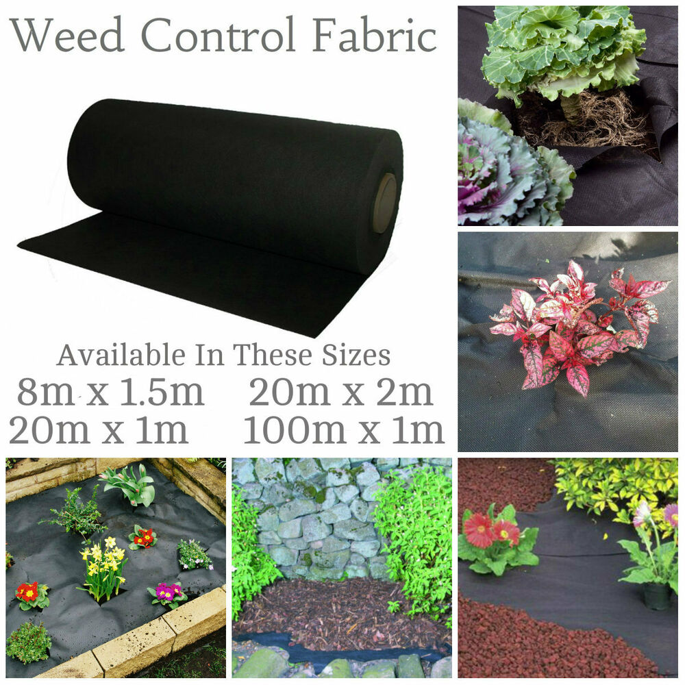 Weed Control Fabric Membrane Driveway Ground Cover Sheet Garden Landscape Fabric | EBay