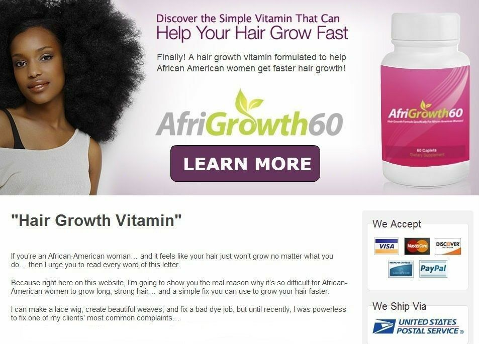 The Best African American Hair Vitamins For Fast Black Hair Growth