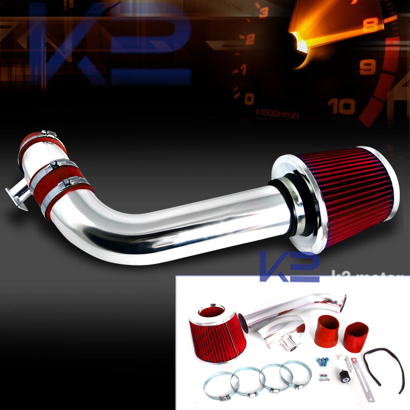 Cold Air Intake For Chevy Silverado 1500 >> 1992-1998 BMW E36 325i 328i L6 Cold Air Intake Induction Kit+Red Filter | eBay