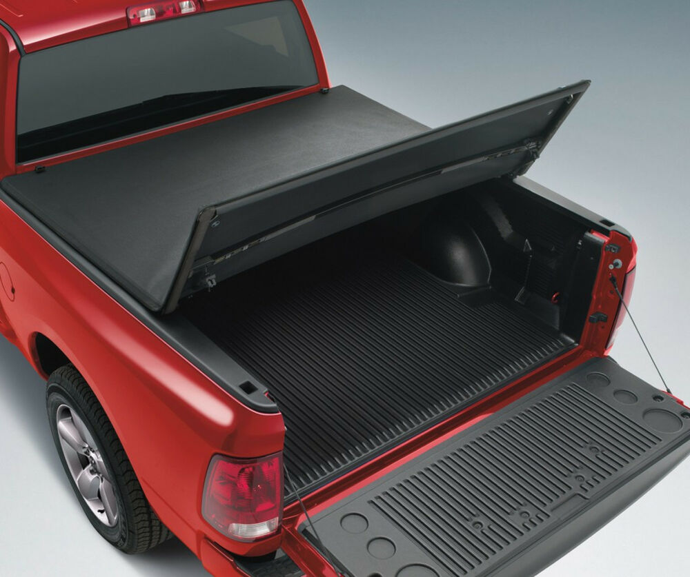 Dodge Bed Covers: NEW Tri-Folding Pro Tonneau Tonno Cover For 2009-2017
