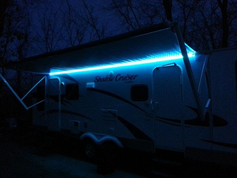 RV Awning Color Changeable LED Lights w/Remote Motor Home ...