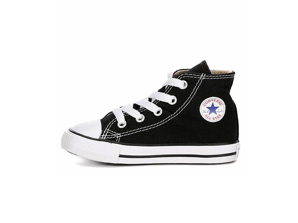 Converse All Star Hi Black White Shoes Chucks Toddler