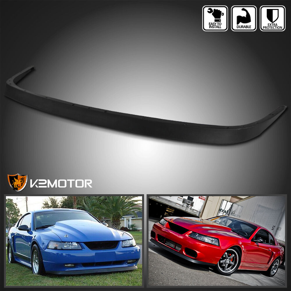 1999 2004 Ford Mustang Factory Style Abs Front Bumper Lip