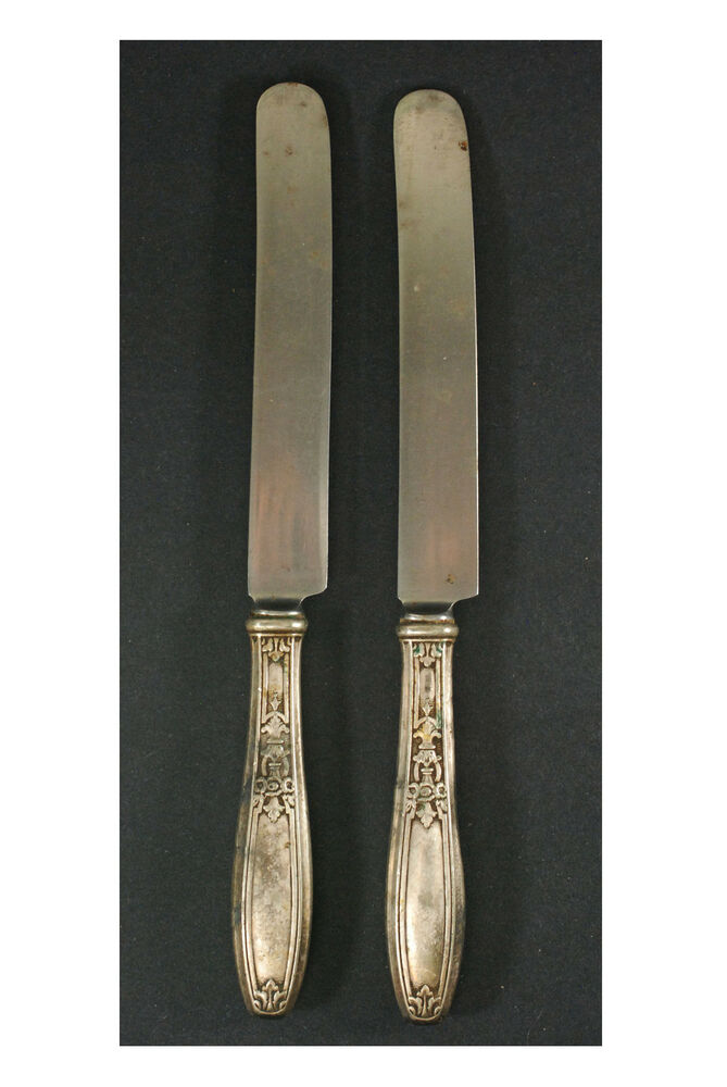Vintage Silver Plate 9 1 2 Quot Knives Made By Insico