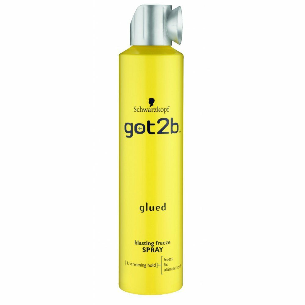 styling products for black hair schwarzkopf got2b glued blasting freeze spray screaming 8029