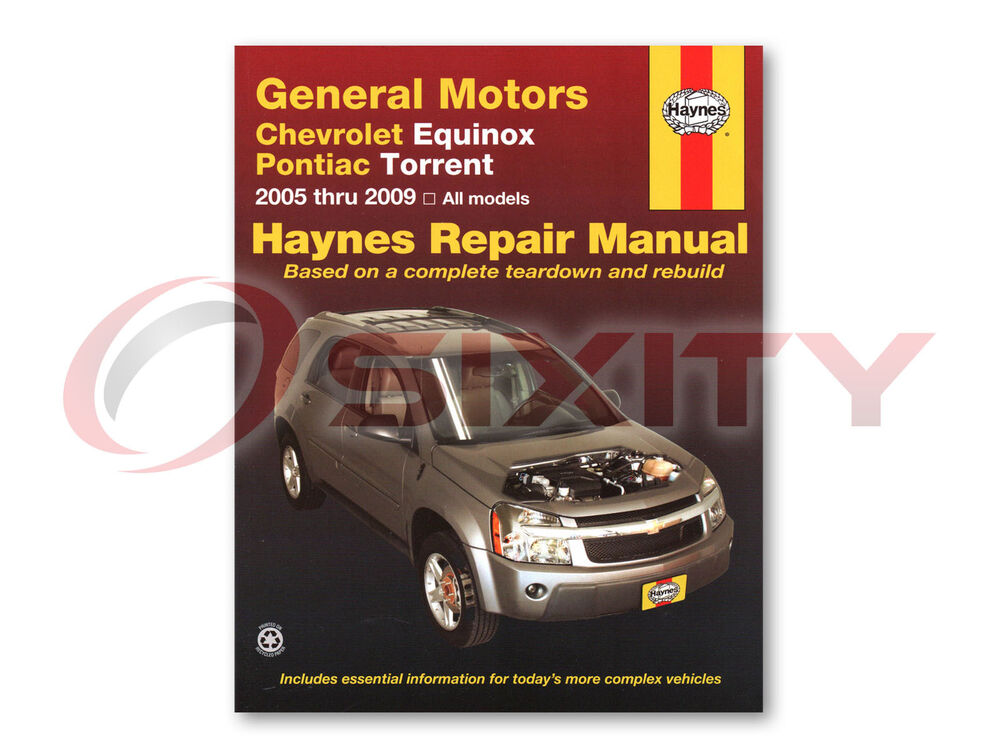 Chevy Equinox Haynes Repair Manual Sport Lt Ls Ltz Shop Service Garage Book Zj