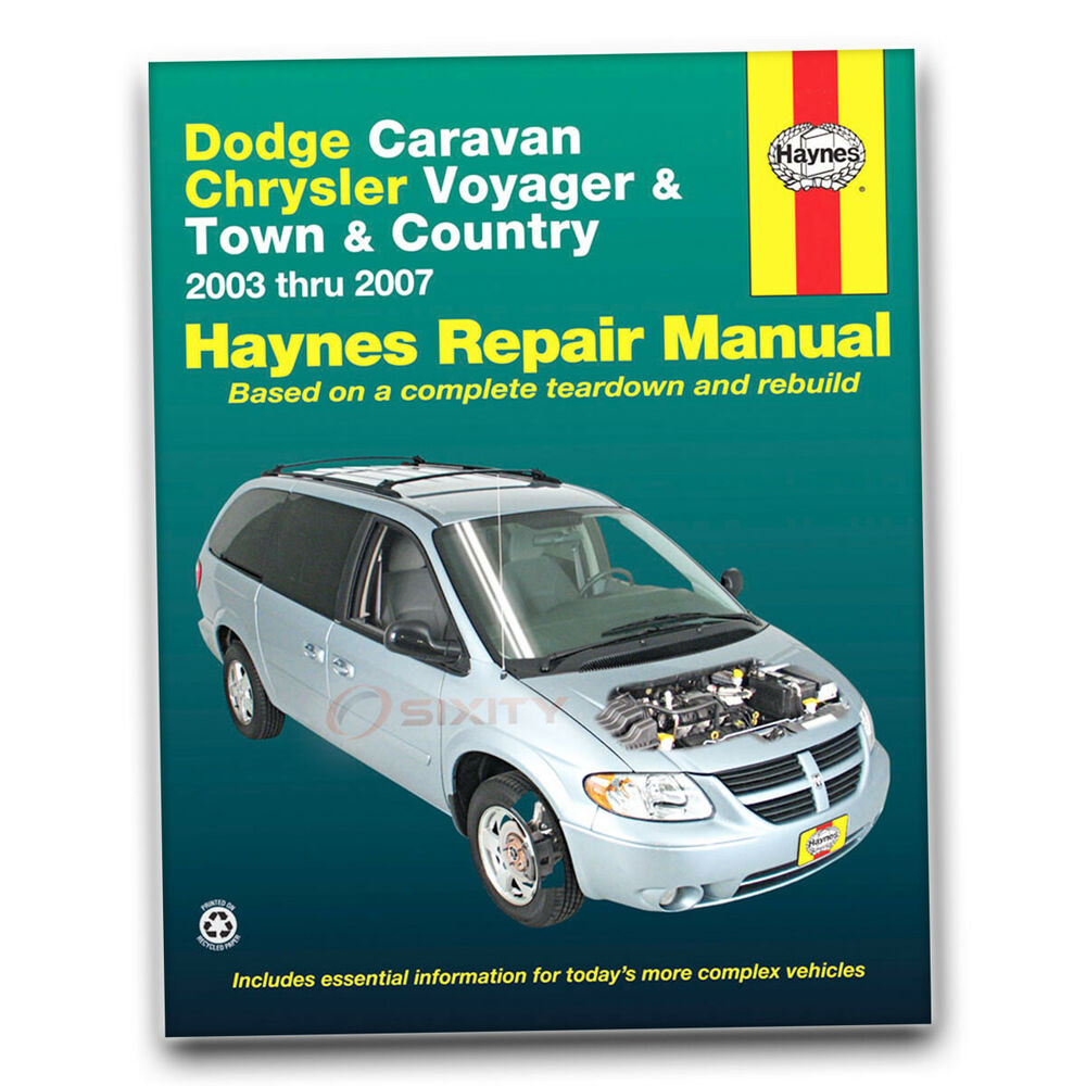 dodge caravan haynes repair manual base sxt se c v sport. Black Bedroom Furniture Sets. Home Design Ideas