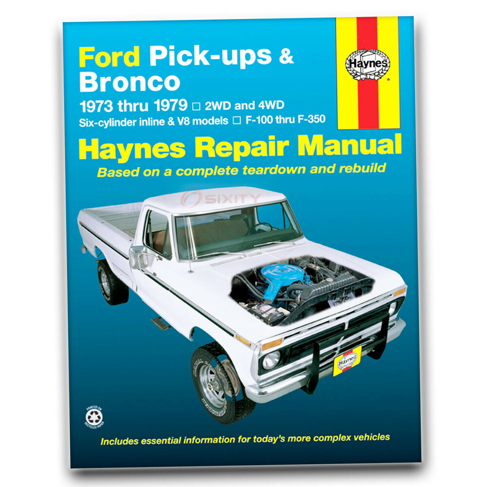 ford f 150 haynes repair manual custom ranger lariat. Black Bedroom Furniture Sets. Home Design Ideas