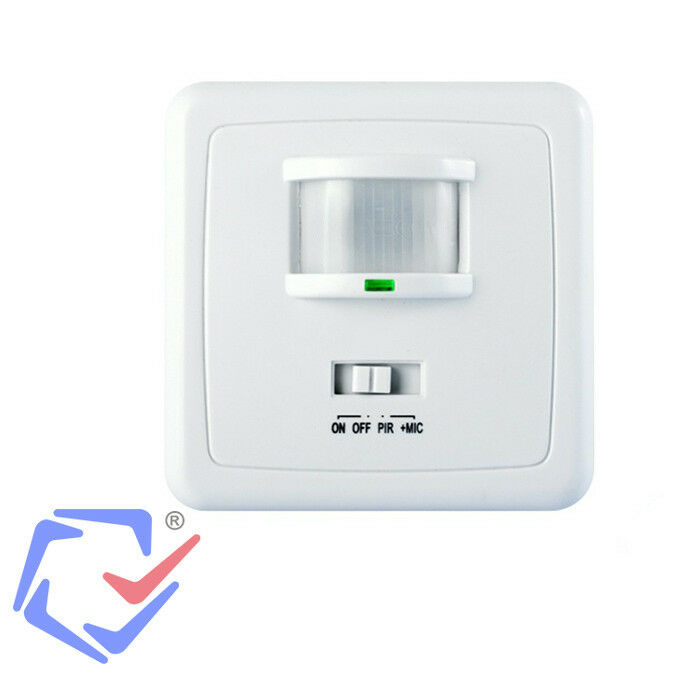 Wall Light Pir Sensor : Wall PIR Motion Detector Light Switch Security Sensor Voice Sound Activated eBay
