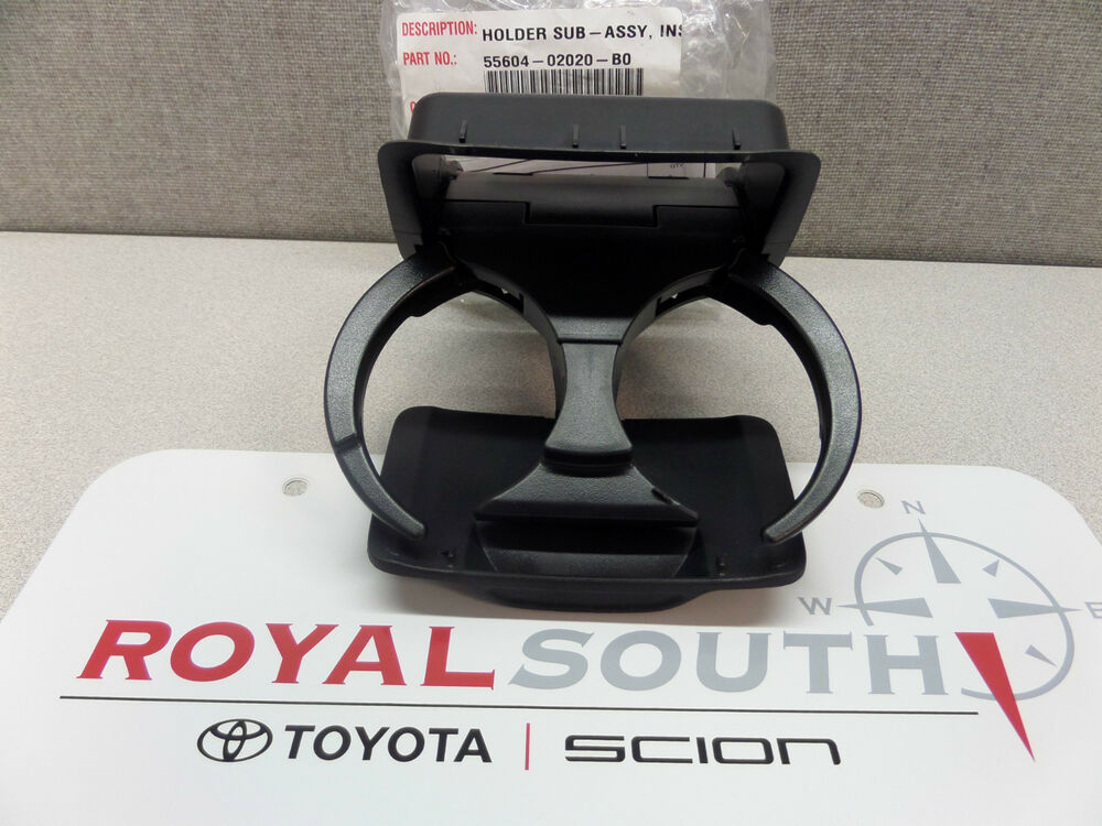 toyota matrix center console rear cup holder genuine oem oe ebay. Black Bedroom Furniture Sets. Home Design Ideas