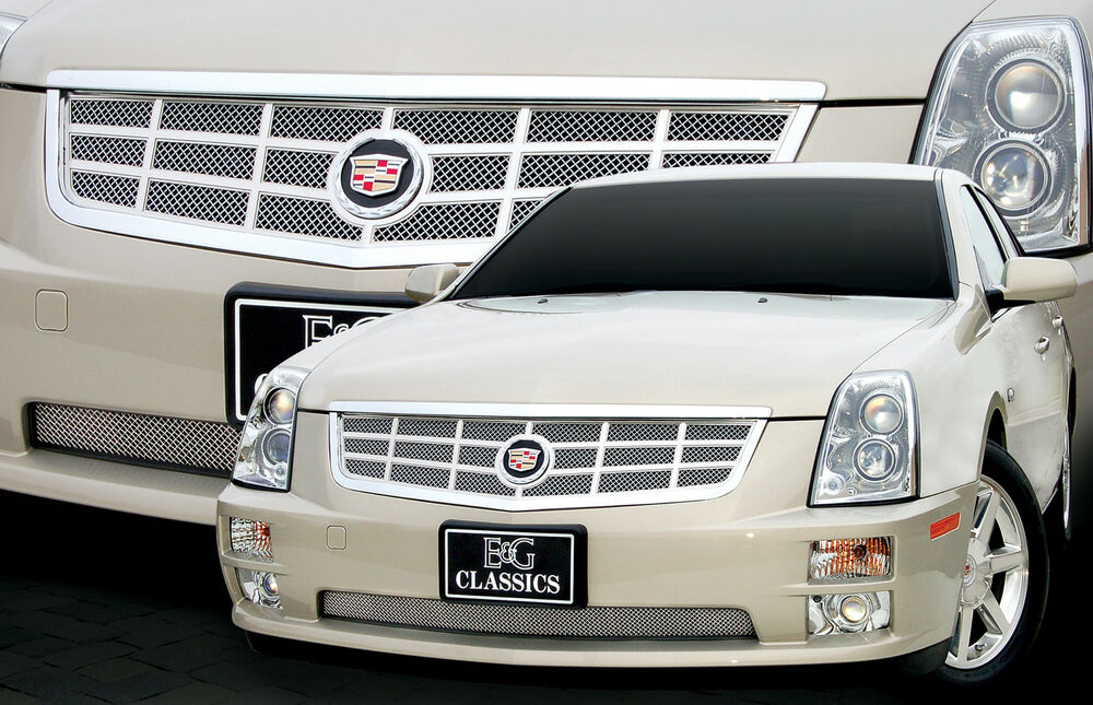 2005 2006 2007 cadillac cady sts classic 18 mesh grille. Black Bedroom Furniture Sets. Home Design Ideas