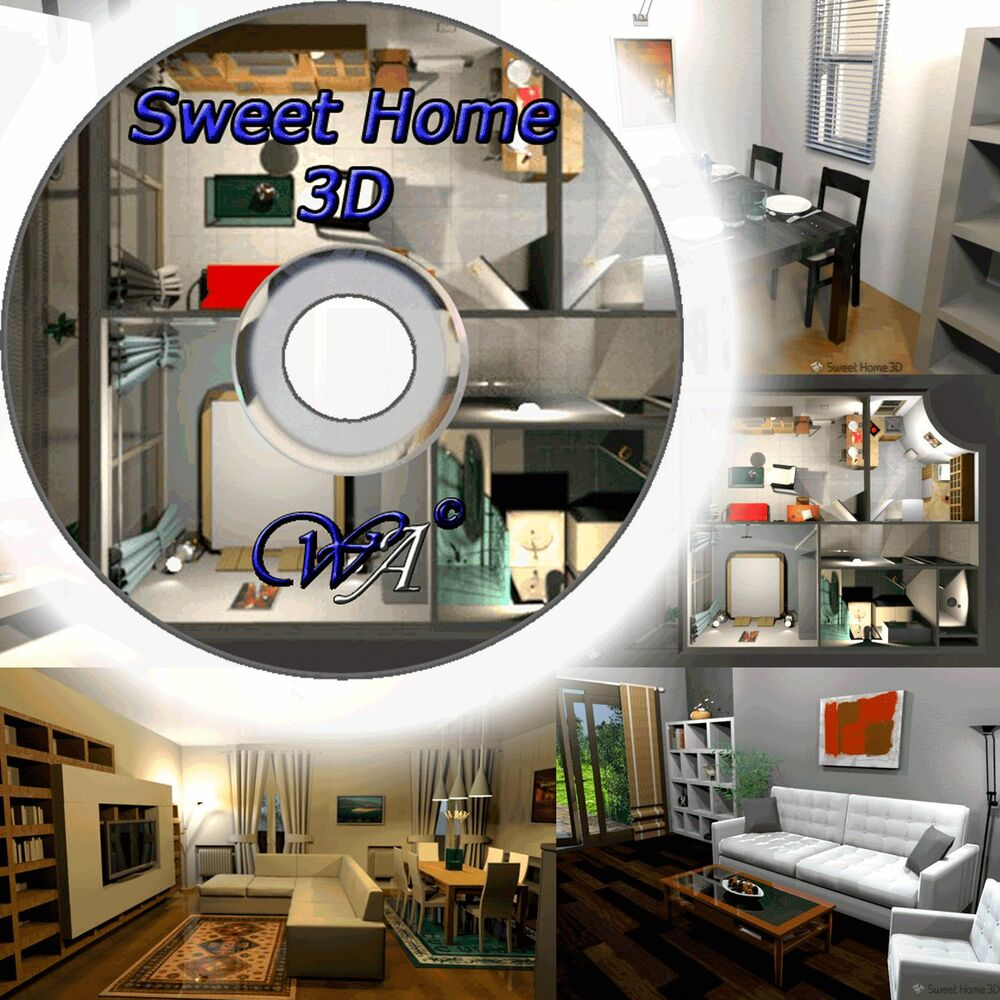 3D Kitchen Designer Home Design Software 2D/3D PC DVD-ROM