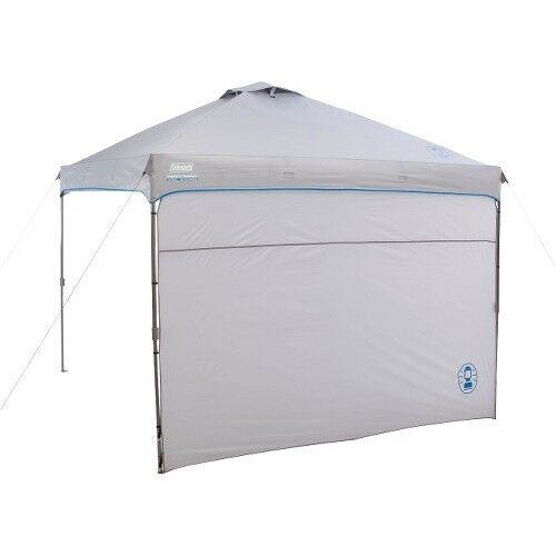 Coleman Instant Canopy With Sunwall 10 X 10 Ebay