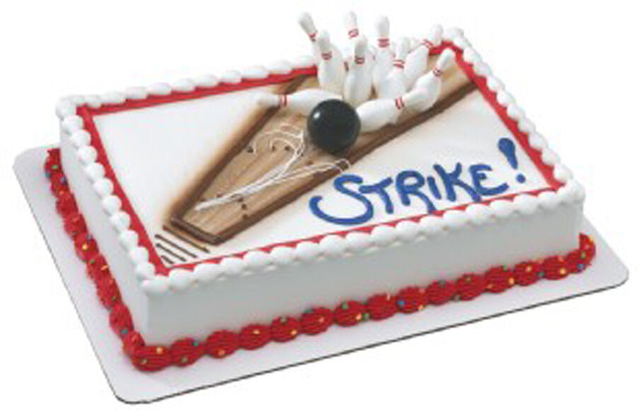 Bowling Cake Kit Topper Cake Decorating Kit eBay