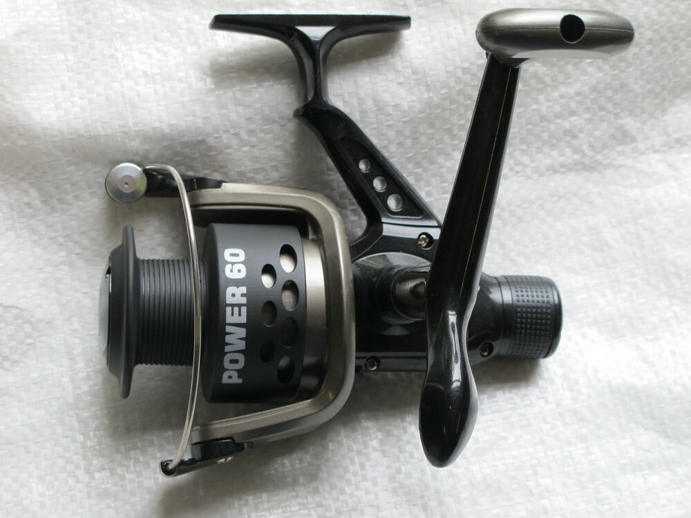 Fladen 160 rear drag spinning fishing reel fixed spool sea for Ebay fishing reels