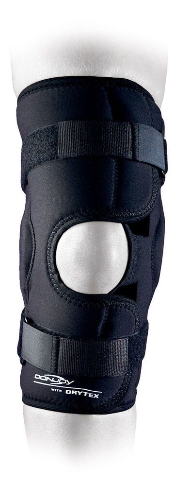 Donjoy Sports Hinged Medial Lateral Wraparound Or