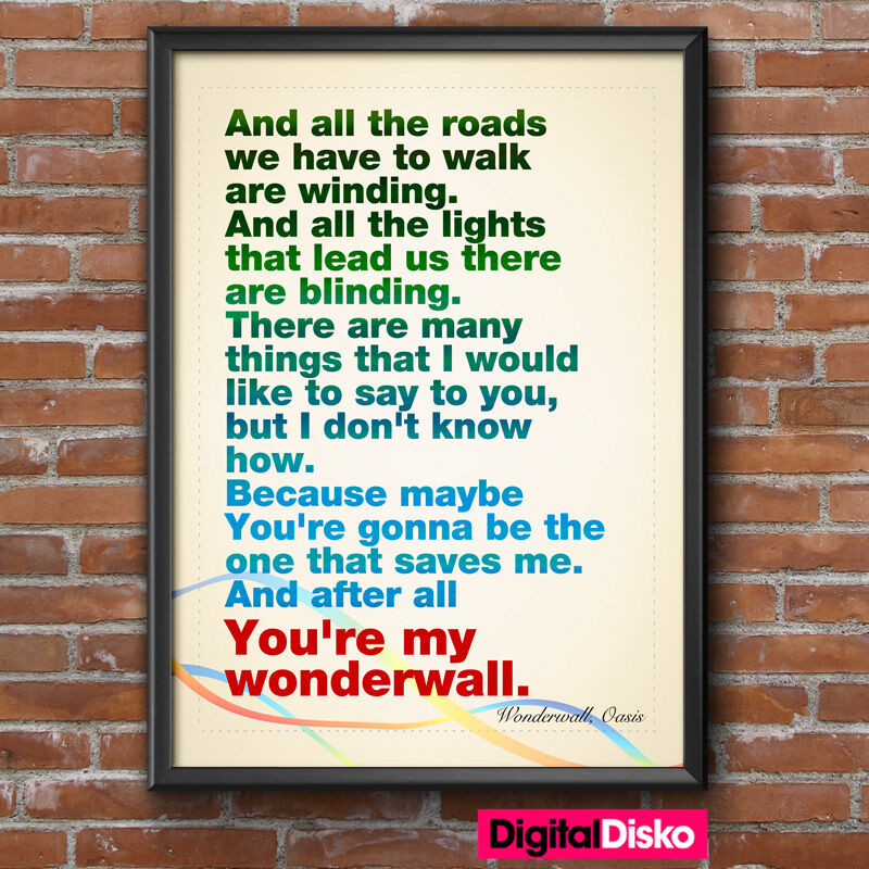 Wonderwall Tab – Quotes of the Day
