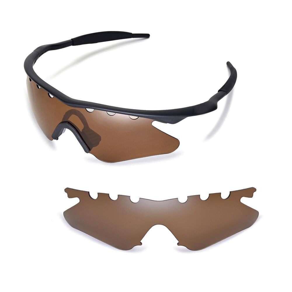 New Wl Polarized Brown Vented Sunglasses Lenses For Oakley
