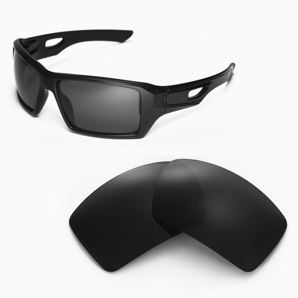 new walleva black replacement lenses for oakley eyepatch 2