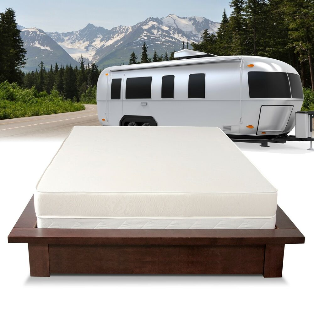 Select Luxury Home Rv 6 Inch Firm Flippable Short Queen