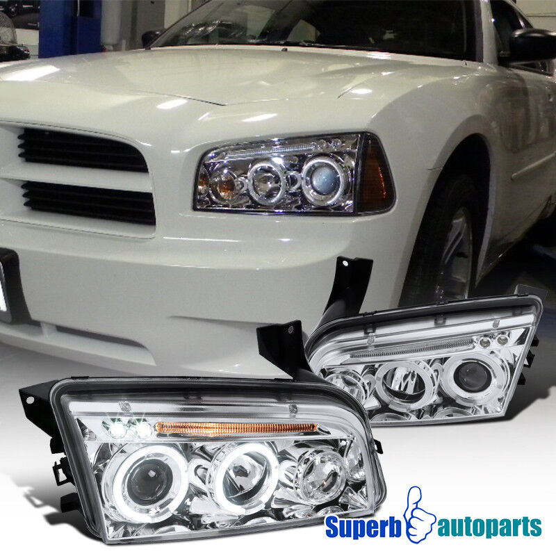 2006 2010 Dodge Charger Led Halo Smoke Projector