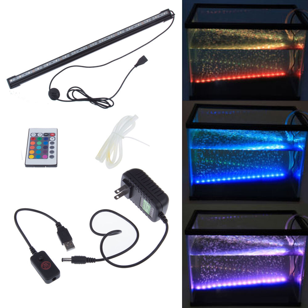 Aquarium Fish Tank LED Bar Light Submersible Underwater