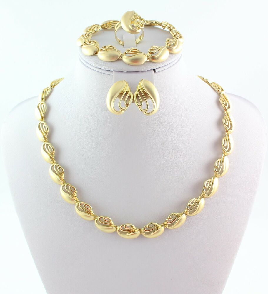 New Fashion Arrivals Wedding Jewelry Awesome Design: New Arrival Fashion African Costume Jewelry Set Gold
