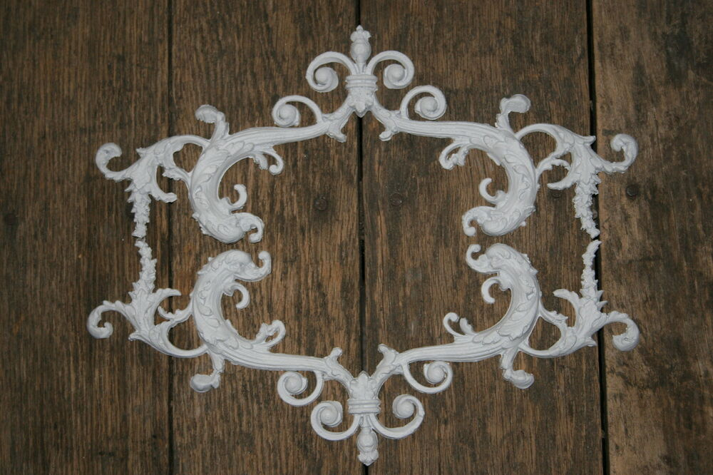 shabby chic furniture appliques shabby chic appliques onlays furniture mouldings ebay. Black Bedroom Furniture Sets. Home Design Ideas