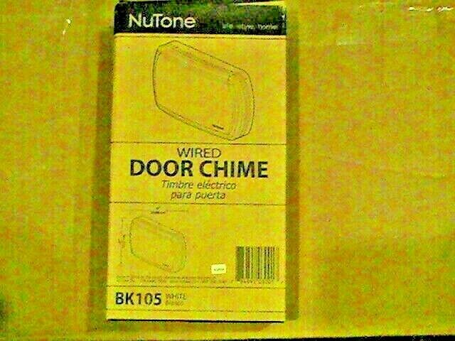 Nutone Wired Door Chime Ebay