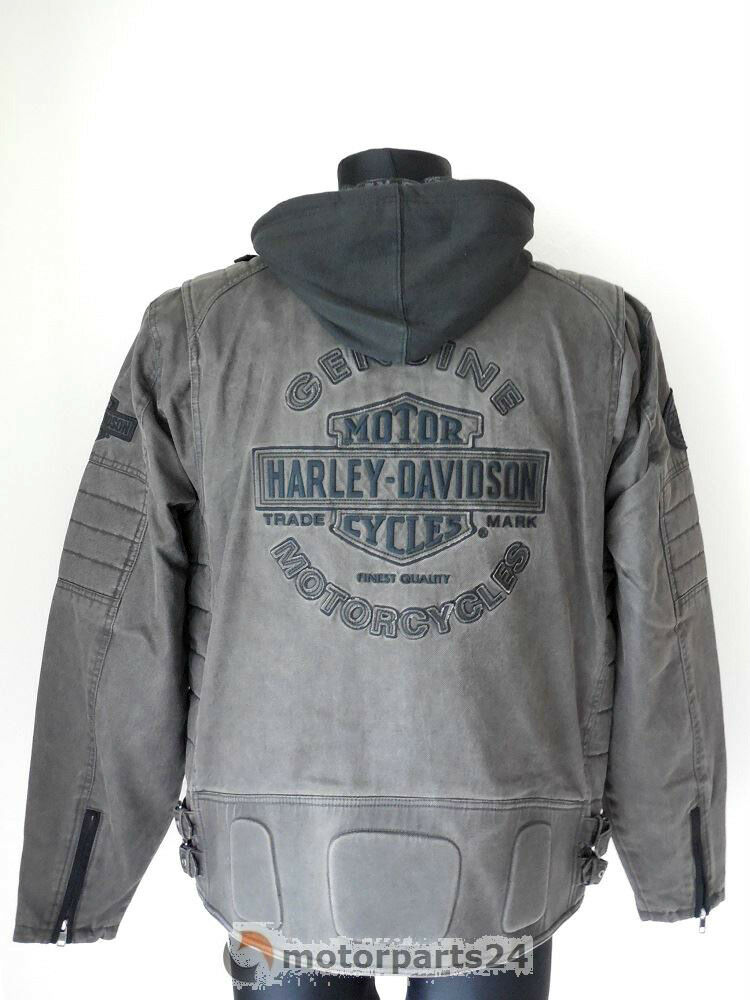 harley davidson 3 in 1 passing link jacke mit hoodie. Black Bedroom Furniture Sets. Home Design Ideas