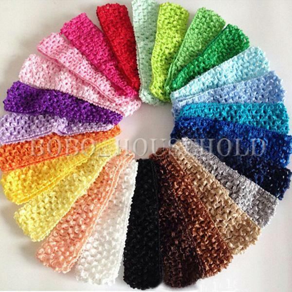 ... Baby Girls Yoga Toddler Crochet Hair band Headband Hairband eBay