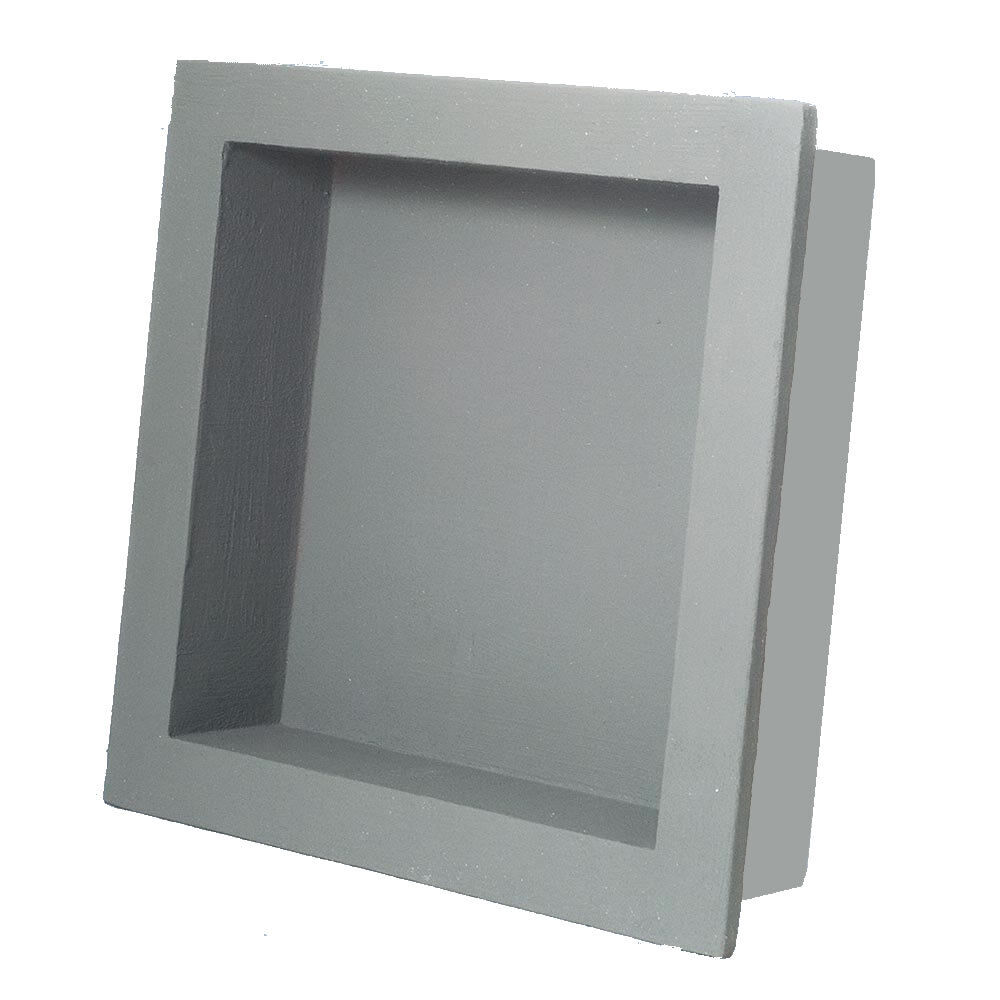 Preformed Square Shower Niche Shelf 14x14