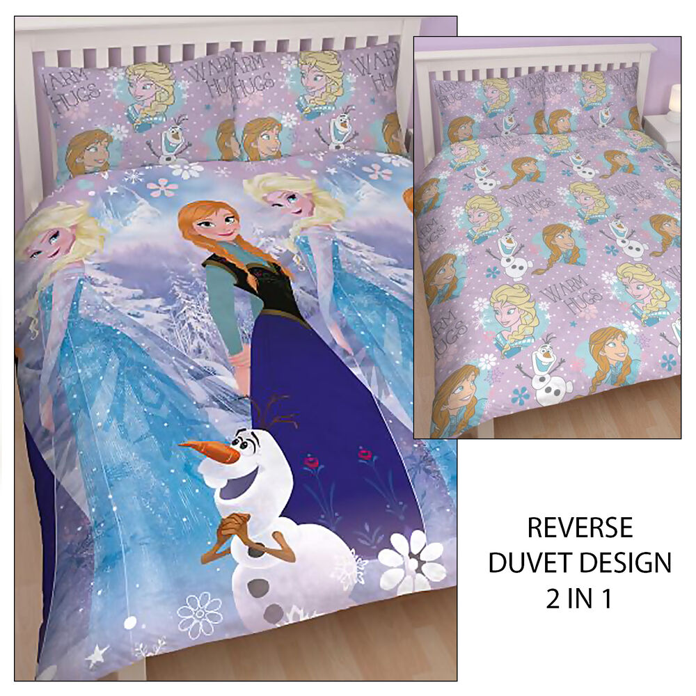 Frozen Olaf Double Bedding