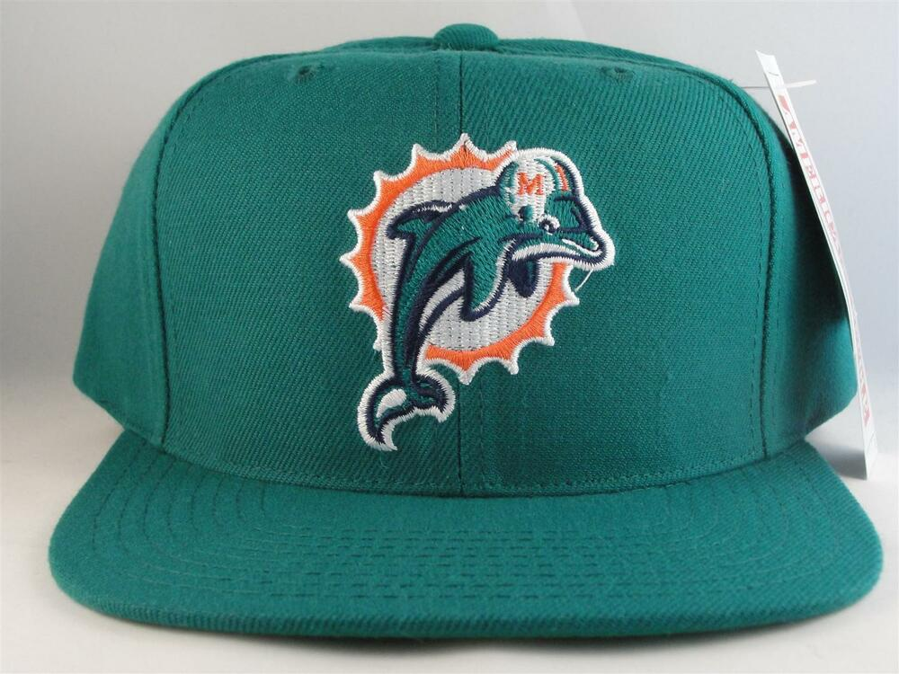 064ffe41772 Details about NFL Miami Dolphins Vintage American Needle Snapback Hat Cap