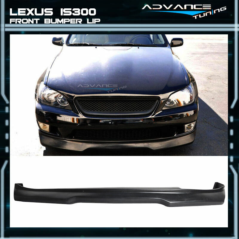 Fits 01-05 Lexus IS300 Type G Urethane Black Front Bumper