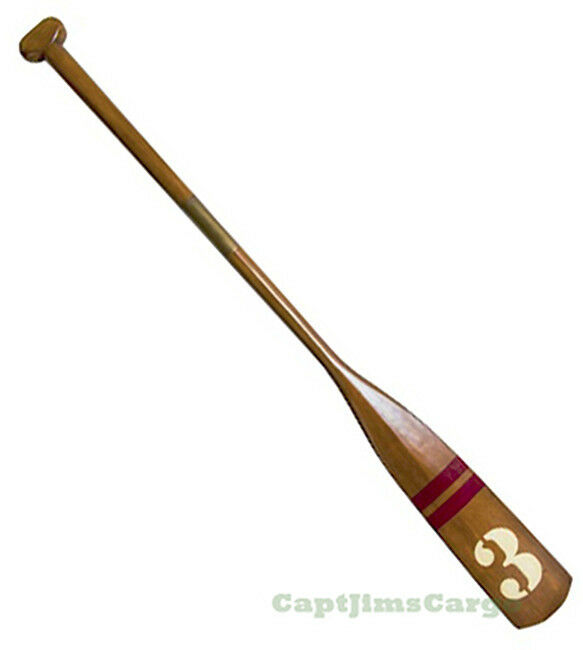 "Nautical Wall Decor Oars: Royal Barge Oar #3 Wooden Paddle 57"" Nautical Decorative"