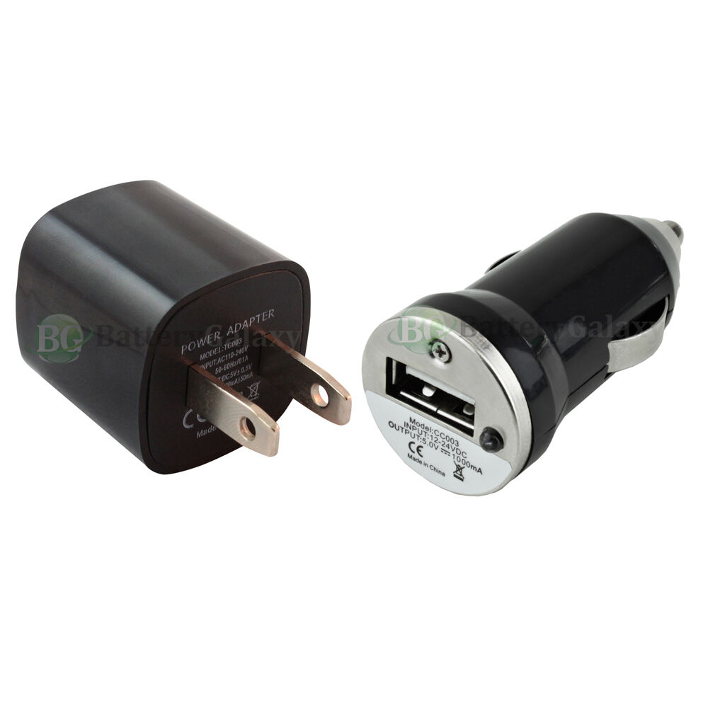 Hot Usb Battery Home Wall Ac Car Power Outlet Charger For