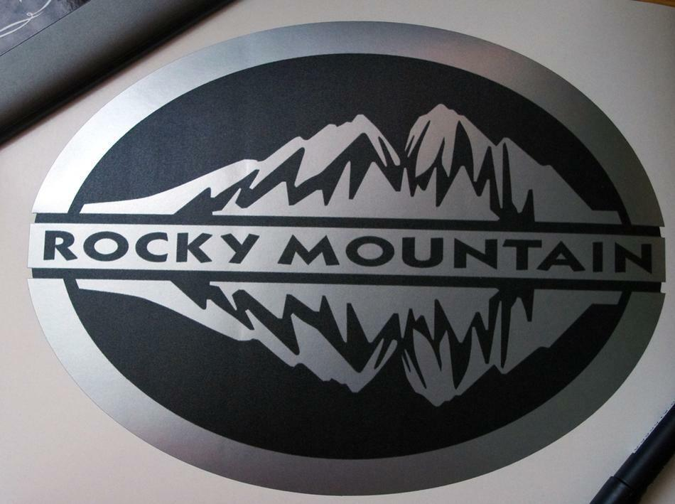 Rocky Mountain 5 Inch Decals For Wrangler Rubicon Door