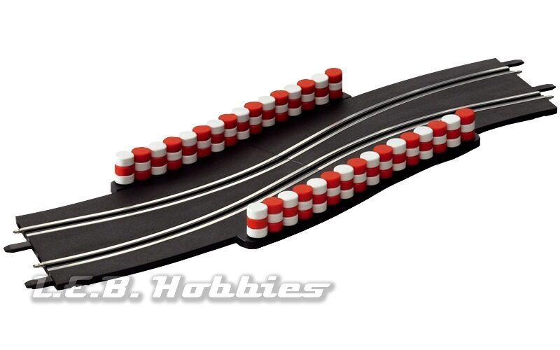 carrera go chicane for 1 43 slot car track 2 pk 61647. Black Bedroom Furniture Sets. Home Design Ideas