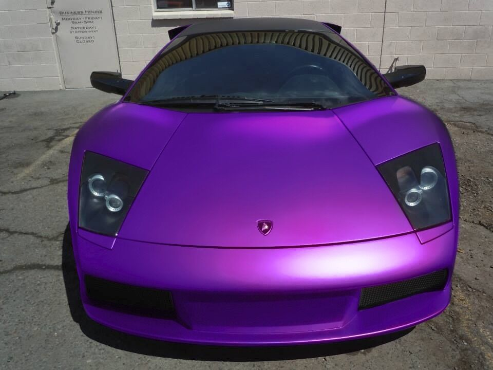 Purple Satin Matte Chrome 3ft X 60 Quot Conform Car Wrap Vinyl